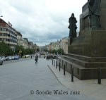 153/366 Wenceslas Square Prague - Snapping the snapper