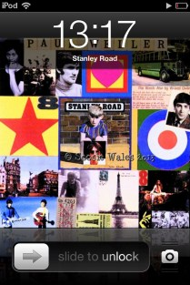 iPod screen shot - who knew!