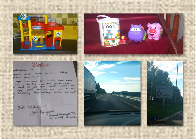 Toys, Letter, New Road