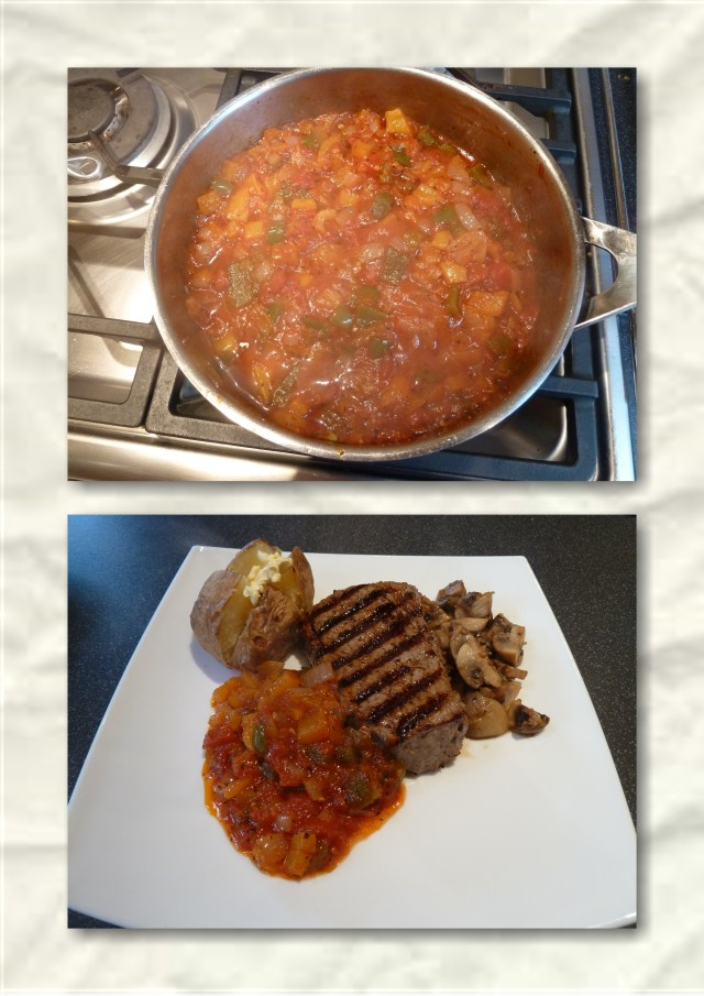 Tomato and pepper sauce