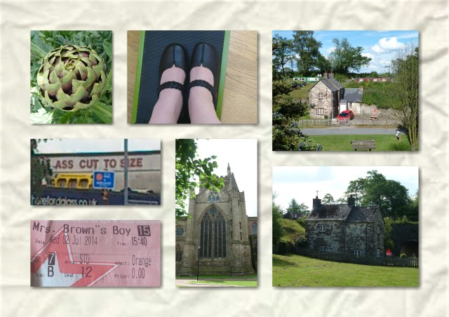 soosie wales, hotter shoes, hereford, orange wednsday,
