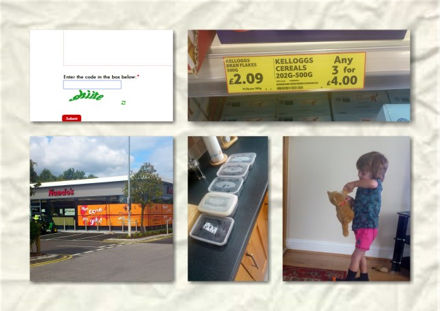 soosie wales, #365, tesco, blackberries, captcha