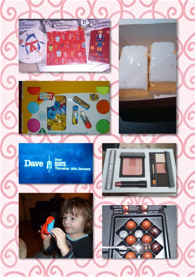 soosie wales, suits, bobbi brown, playdoh, elc, chocolate